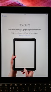 iPad - Touch ID