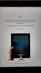 iPad - Siri