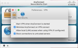 Cisco VPN - Inställningar